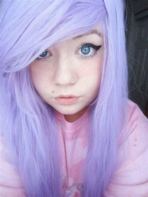 Emo Girl With Monroe Piercing