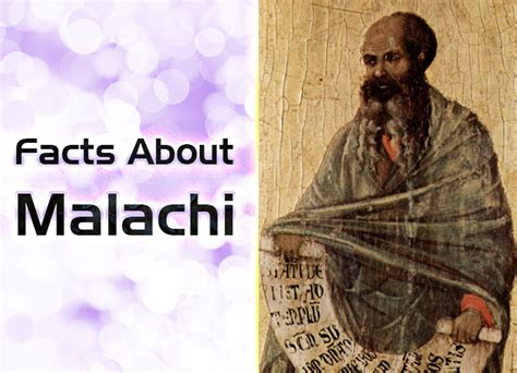 Facts About Malachi