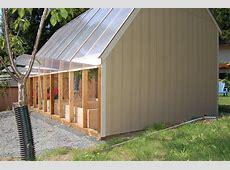 Greenhouse Under the polycarbonate The 10 Year Challenge