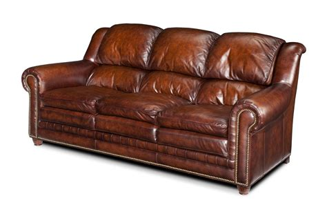 Quality Sofa by Upholstered Quality Furniture All Leather Sofa