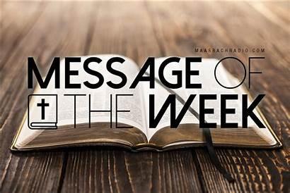 Week Message Maasbach