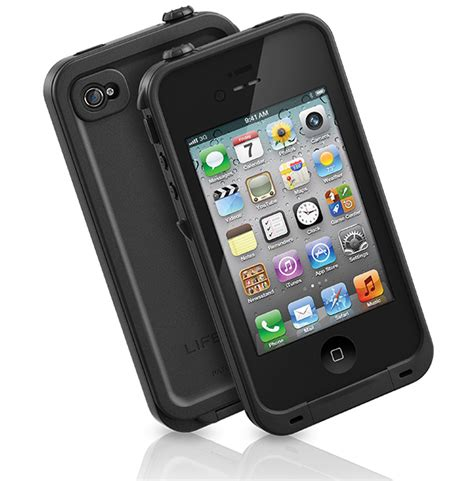 iphone 4s cases lifeproof lifeproof iphone 4s black
