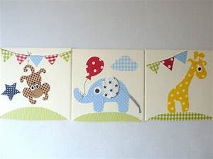 Wimpelkette Stoff Kinderzimmer : stoffbilder set stoffbilder keilrahmen und wimpelkette ~ Whattoseeinmadrid.com Haus und Dekorationen