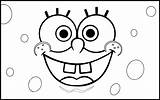 Coloring Rectangle Pages Sponge Bob Spongebob Birthday Shapes Wecoloringpage sketch template