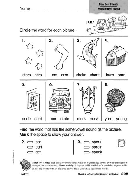 grade r phonics worksheets r controlled vowels worksheets 2nd grade worksheets for