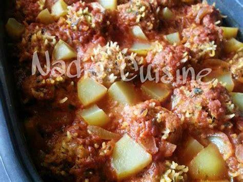 cuisiner du colin recettes de kefta et pomme de terre