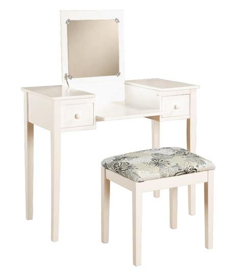home styles bermuda vanity bench white finish home