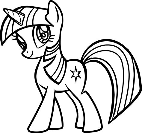 Best Of My Little Pony Coloring Pages Princess Luna Filly