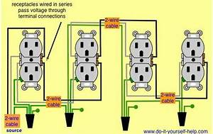 Wiring Diagram Receptacles In Series