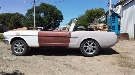 convertible cars for no drivetrain 1965 ford mustang convertible project for sale