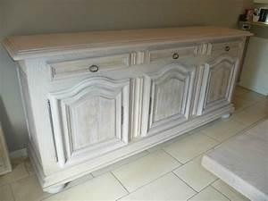 peindre un meuble en blanc ceruse meuble c ruse cr With peindre un meuble en blanc ceruse