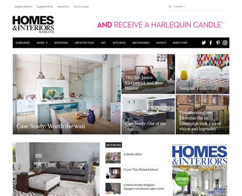 homes and interiors scotland top 30 interior design blogs to follow in 2018