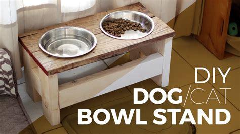 cat food bowl stand food