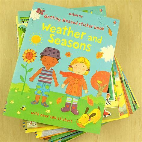 usborne childrens picture sticker book colouring