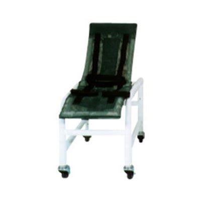 mjm reclining pvc bath shower chair medium with base and