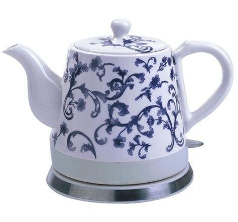 Ceramic Electric Kettle Porcelain Teapot Water Boiler