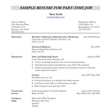 resume writing template  sample  format