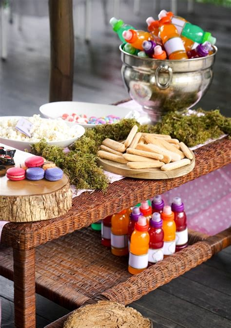 boho enchanted forest party pretty  party