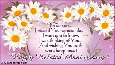 Belated Marriage Anniversary Wishes Quotes
