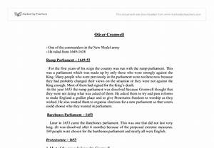 Compare Contrast Essay Papers Oliver Cromwell Essay Of Education Dissertation In Nursing Analytical Essay Thesis also High School Persuasive Essay Examples Oliver Cromwell Essay Reading Skills Essay Oliver Cromwell Essays  Compare And Contrast Essay About High School And College