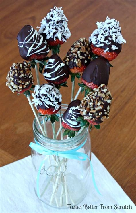 Gourmet Chocolate Covered Strawberries Bouquet So