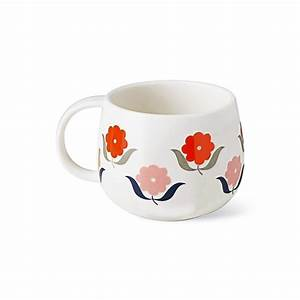 Tasse Mr Mrs : tasse fleurs orange atomic soda mr mrs clynk ~ Teatrodelosmanantiales.com Idées de Décoration