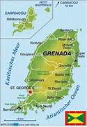Grenada Map All Places And Travel Tourism Directory Aufeus - Road map of grenada island