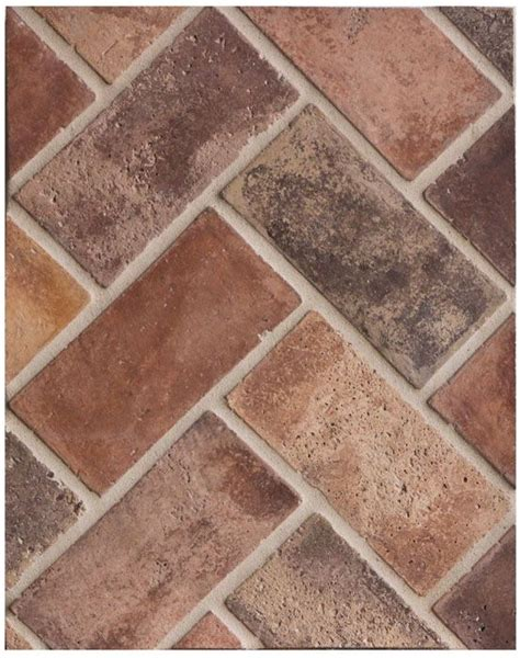 brick look tile flooring 17 beste idee 235 n over brick tile floor op pinterest bakstenen vloer keuken witkalken en