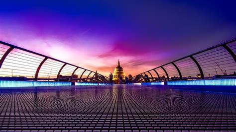 millennium bridge london wallpapers hd wallpapers id