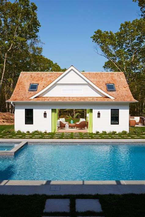 cool pools   beach house coastal living