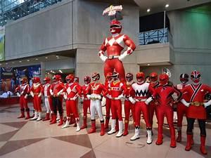 POWER RANGERS ADULT RED RANGER COSTUME XL 42-46 LICENSED ...