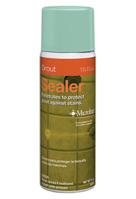 Tilelab Grout And Tile Sealer Sds by Tilelab 174 Grout Sealer Aerosol Custom Building Products