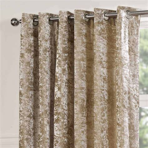 sundour plush lined eyelet curtains silk