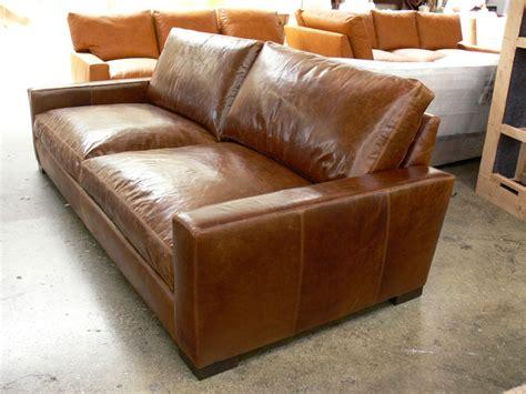 brompton leather sofa 96 braxton leather sofa in brompton classic vintage the 1813