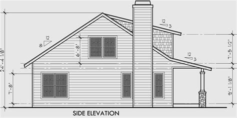 house porch side view bungalow house plans 1 5 story house plans