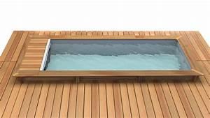 Piscine A Monter Soi Meme : prix d 39 une piscine bois rectangulaire semi enterr e ~ Premium-room.com Idées de Décoration