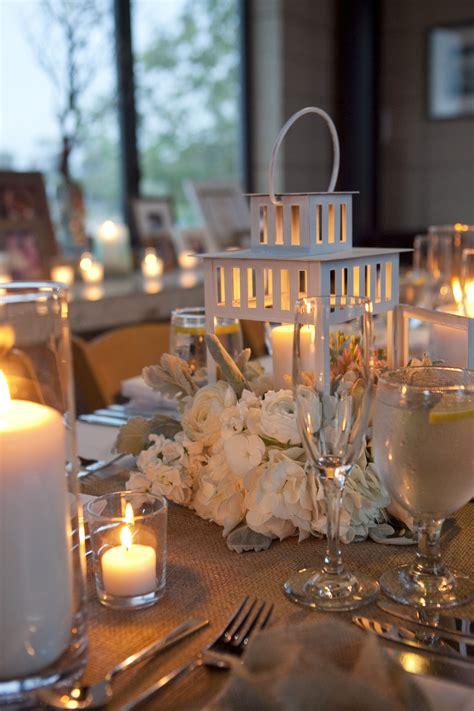Daily Wedding Flower Ideas (New Lantern centerpiece