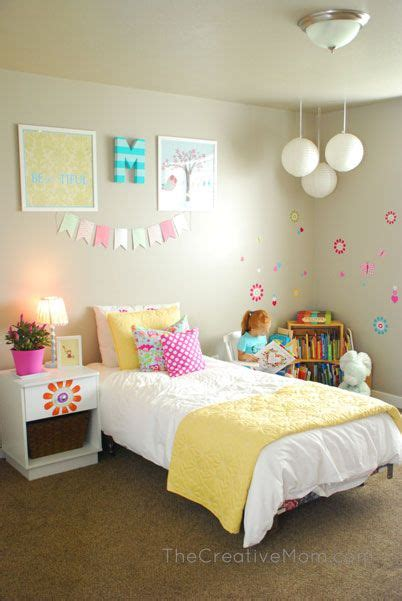 simple girls bedroom ideas  pinterest girls