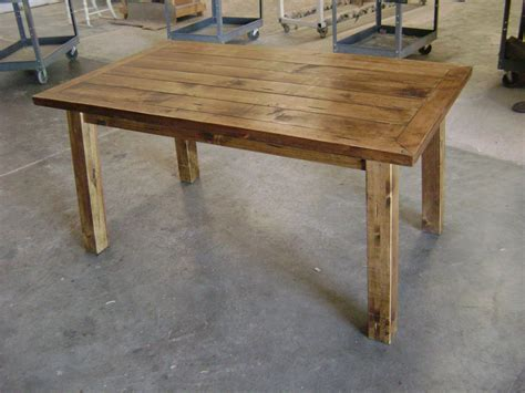 Custom Rustic Pine Dining Table By Philip Skinner