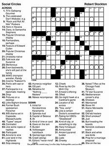 Printable Diagramless Puzzles