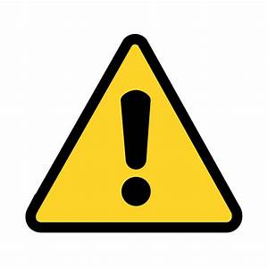 Clipart - warning icon