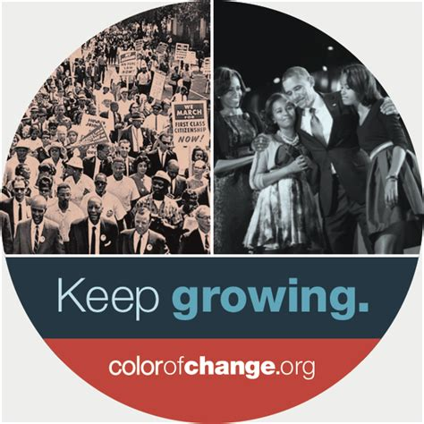 color of change org colorofchange org get your free inauguration sticker