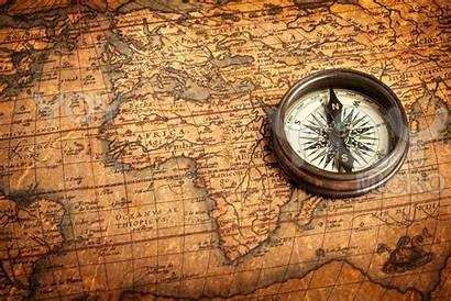 Compass Map Ancient Antique Wallpapers Treasure Maps
