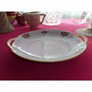 Plat A Gateau : plat g teau en porcelaine legrand limoges brocante lestrouvaillesdecaroline ~ Teatrodelosmanantiales.com Idées de Décoration
