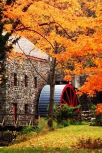 Grist Mill Wayside Inn Sudbury MA