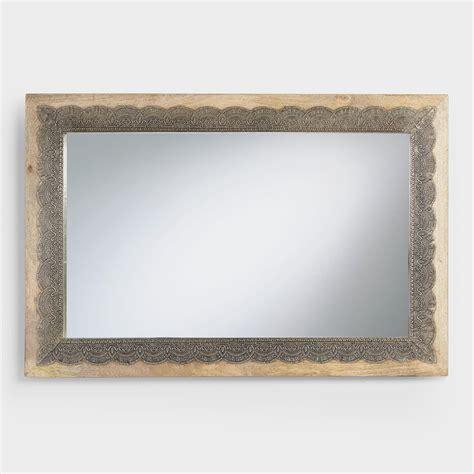 important long horizontal mirror cool mid century modern