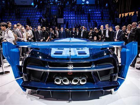 bugatti vision gran turismo rear   car  fun