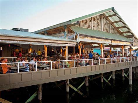 wharfside patio bar restaurant photo gallery