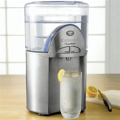 water filtration cuisinart cleanwater water filtration system the green