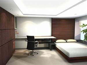 Schreibtisch Im Schlafzimmer : 28 originelle schlafzimmergestaltung ideen ~ Sanjose-hotels-ca.com Haus und Dekorationen
